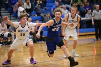 Gallery: Boys Basketball La Conner @ Mount Vernon Christian